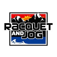 racquet and jog logo